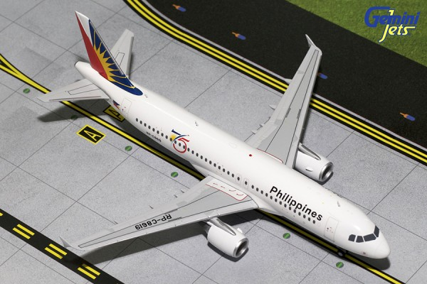 """Airbus A320-200 Philippine Airlines """"75th Anniversary"""" Scale 1/200"""