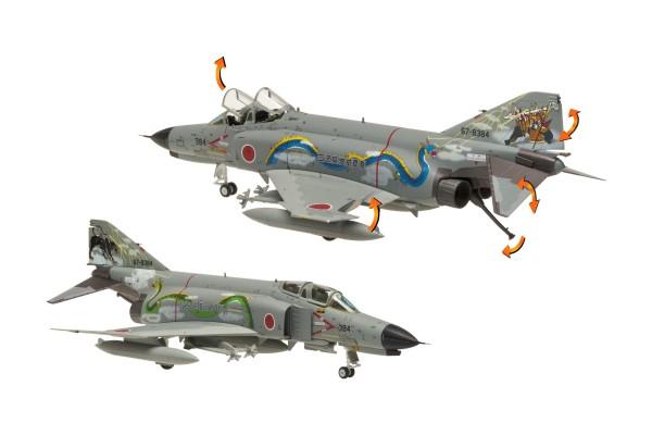 McDonnell Douglas F-4EJ Phantom II JASDF Kai 2003 Misawa Pre 50th Anniversary Scale 1/80