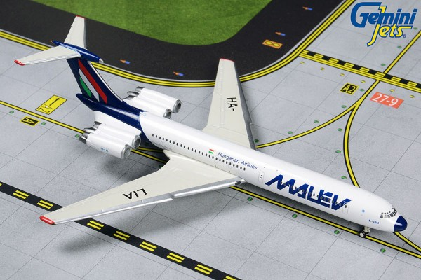 Ilyushin IL-62M Malev Hungarian Airlines Scale 1/400