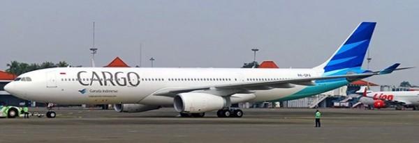 "Airbus A330-300 Garuda Indonesia ""Cargo Title"" PK-GPA Scale 1/400"