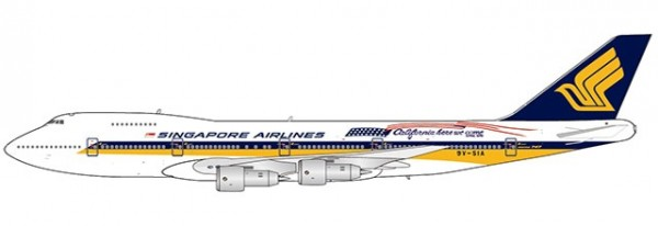 Boeing 747-200 Singapore Airlines 9V-SIA Scale 1/400