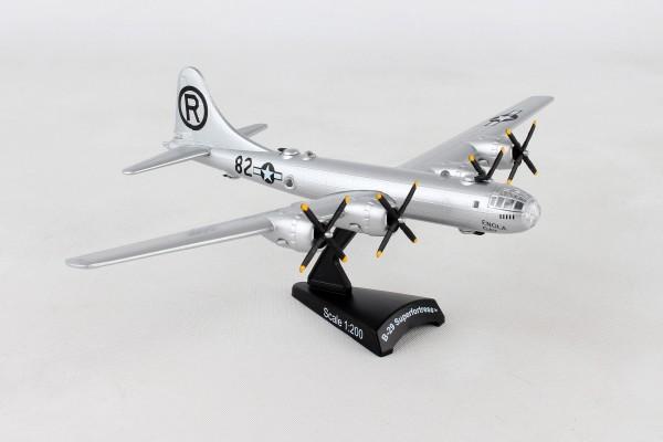 "POSTAGE STAMP Boeing B-29 Superfortress USAF ""Enola Gay"" Scale 1/200"