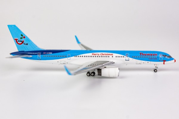 """Boeing 757-200 Thomson Airways """"Merry Christmas"""" livery G-OOBE Scale 1/400"""