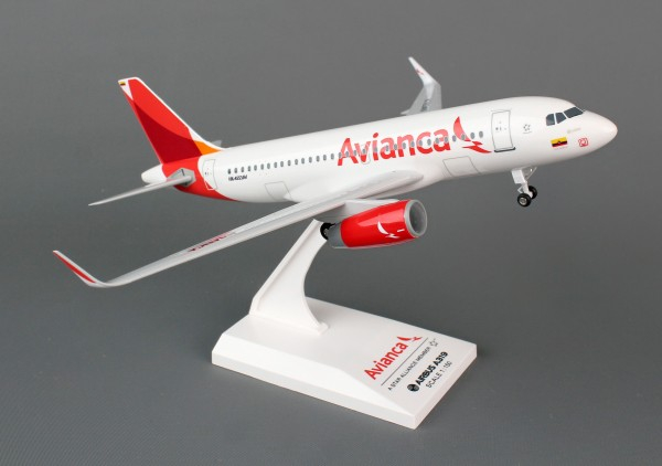 Airbus A319 Avianca Airlines Scale 1/150 w/G