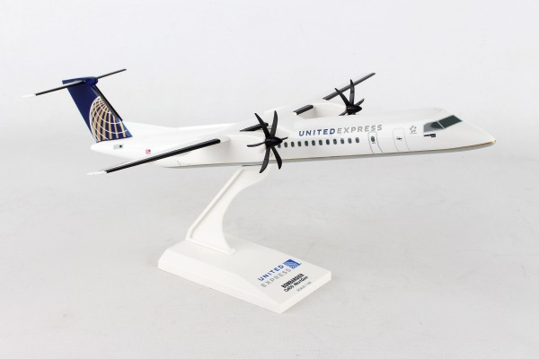 Bombardier DHC-8-400 United Express NL Scale 1/100