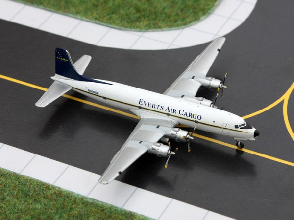 Douglas DC-6 Everts Air Cargo Scale 1/400