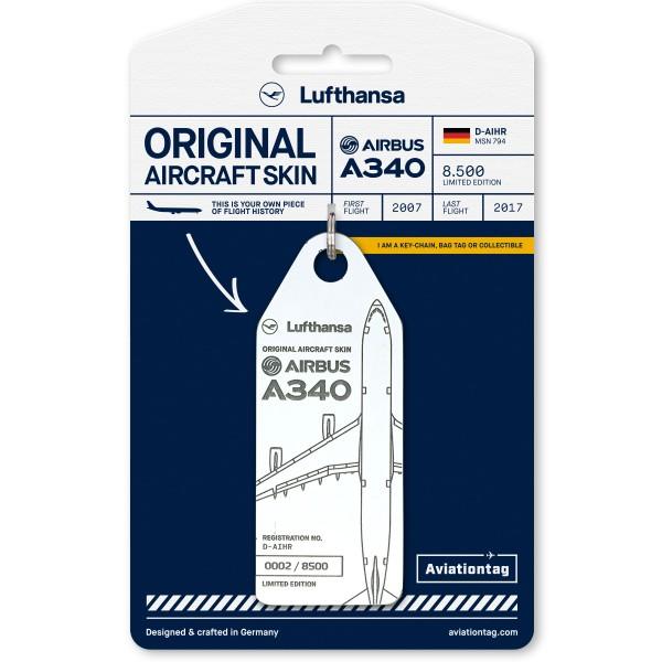 Aviationtag Airbus A340 – D-AIHR (Lufthansa)