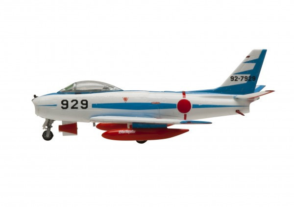 North American F-86 Sabre Japan Air Self-Defense Force BLUE IMPULSE 'blue' Scale 1/200