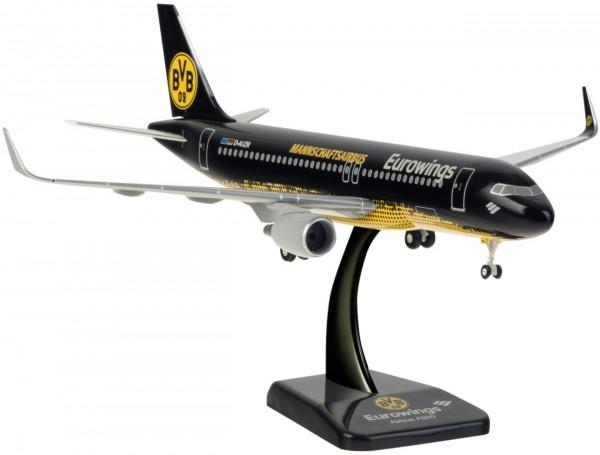 "Airbus A320-200 Eurowings ""BVB Mannschaftsairbus"" D-AIZR Scale 1:200"