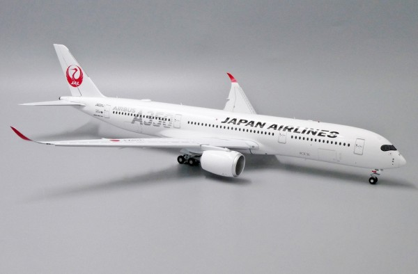 """Airbus A350-900XWB Japan Airlines """"JAL Silver"""" Flaps Down Version JA02XJ Scale 1/200"""