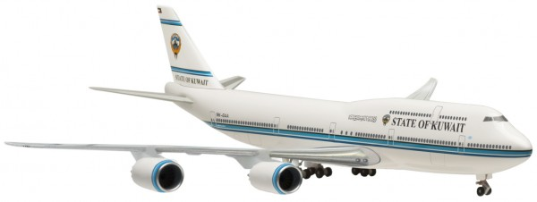 Boeing 747-8 State of Kuwait Ground Configuration Scale 1:500
