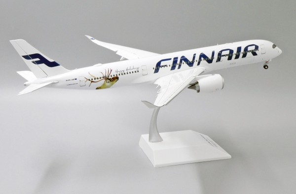 """Airbus A350-900 Finnair """"Happy Holidays Livery"""" Flap Down Version OH-LWD Scale 1/200"""