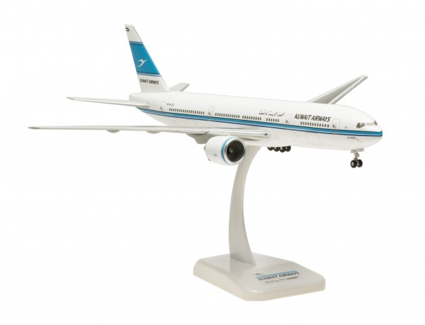 """Boeing 777-200ER Kuwait Airways """"Al-Qurain"""" Scale 1:200"""