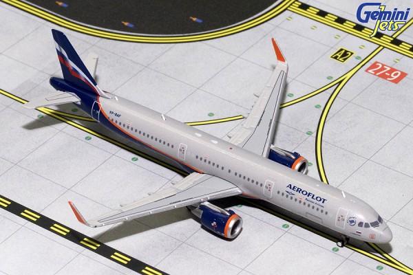 Airbus A321S Aeroflot VP-BAF Scale 1/400