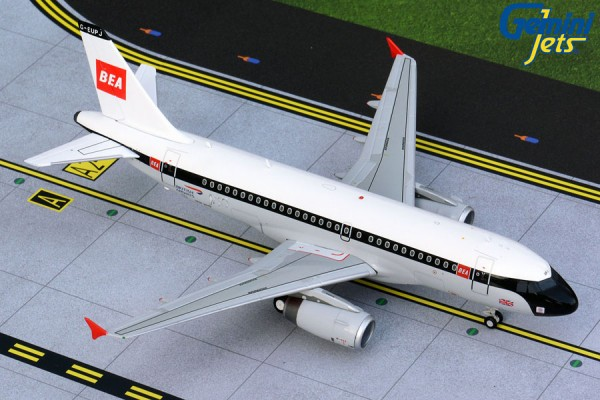 "Airbus A319 British Airways ""BEA Retro Livery"" Scale 1/200"