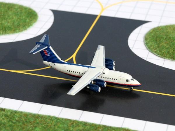 British Aerospace BAe 146-200 United Express N292UE Scale 1/400