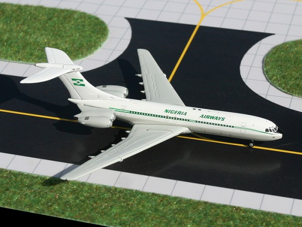 Vickers Standard VC-10 Nigeria Airways Scale 1/400