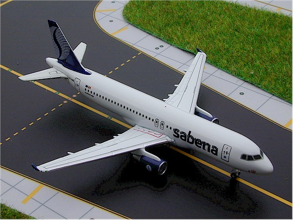 Airbus A320 Sabena Scale 1/400
