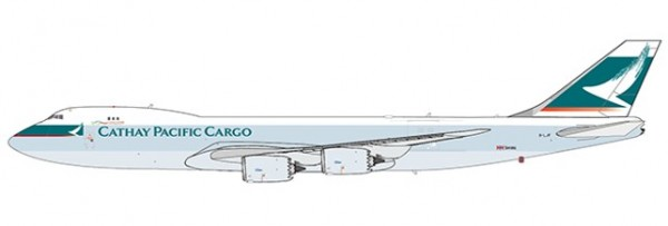 Boeing 747-8F Cathay Pacific Cargo Interactive Series B-LJF Scale 1/400