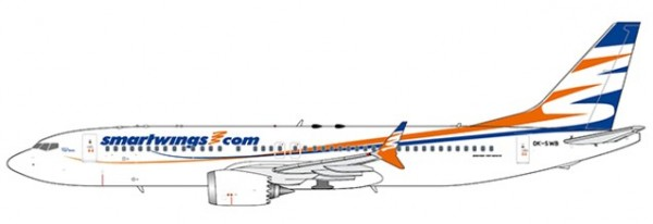 Boeing 737-MAX8 Smartwings OK-SWB Scale 1/400