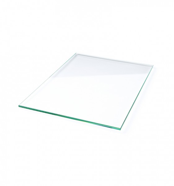 shelf in glass all edges are smoothed