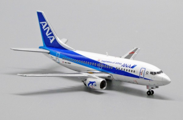 """Boeing 737-500 ANA """"Farewell"""" JA306K Scale 1/400 Limited 440pcs"""