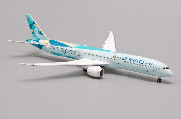 "Boeing 787-10 Etihad Airways ""Greenliner Livery"" A6-BMH Scale 1/400"