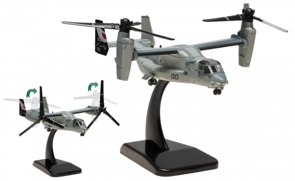 "Bell-Boeing MV-22B US Marines ""Ridge Runners"" Bureau Number: 168011 Scale 1/200 +++"
