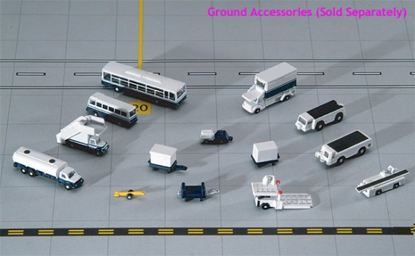 14 Piece Ground Accessories Set GeminiJets Scale 1/400