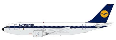 Airbus A310-200 Lufthansa D-AICA Scale 1/200 #