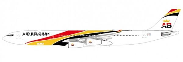 Airbus A340-300 Air Belgium OO-ABB Scale 1/400 #
