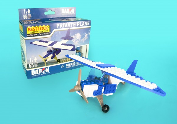 Private Plane Construction Toy (55pcs)