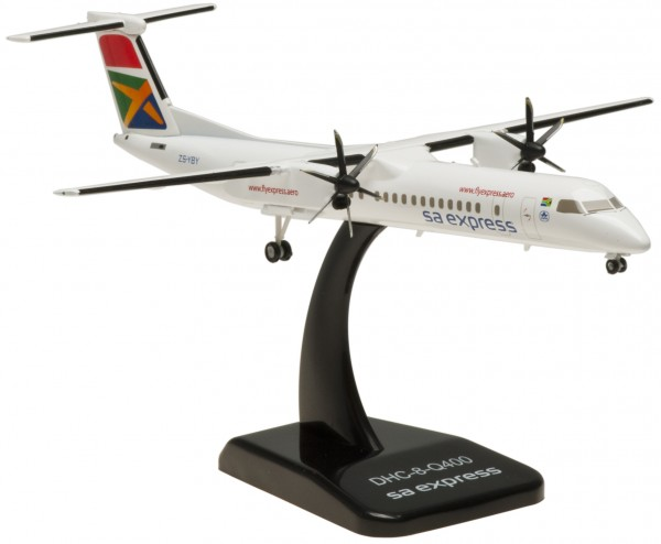 Bombardier DHC-8-Q400 South African Express Airways (die cast) Scale 1:200