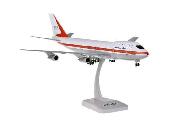 Boeing 747-100 City of Everett N7470 Scale 1:200