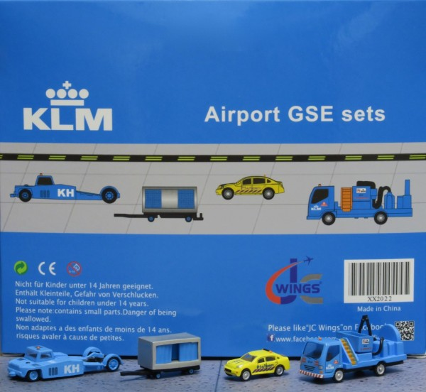 GSE Set 2 KLM Scale 1/200