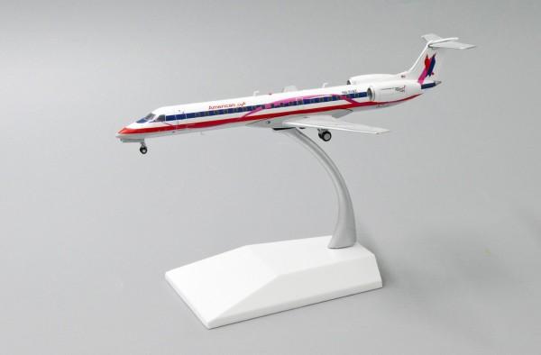 """Embraer ERJ-145LR American Eagle """"Pink Ribbon Livery"""" N691AE Scale 1/200"""