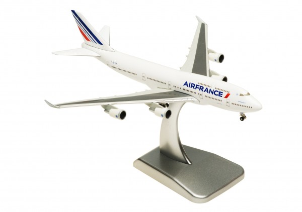 Boeing 747-400 Air France F-GITH Scale 1:500