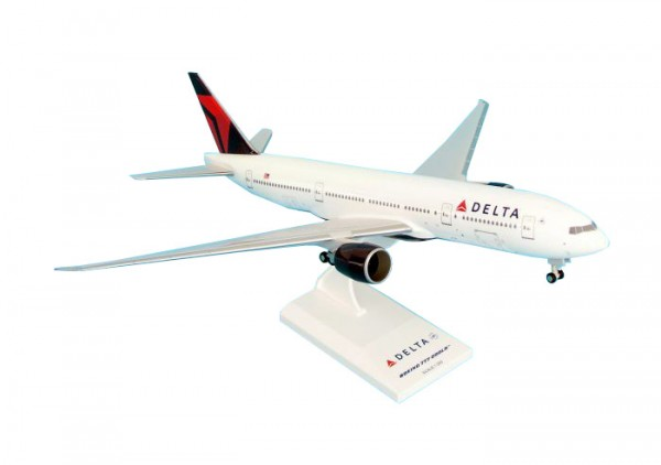 Boeing 777-200 Delta Air Lines Scale 1/200 w/Gear
