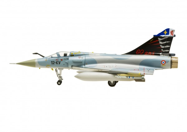 """Dassault Mirage 2000C French Air Force 12-KV 60 ans EC2/12 """"PICARDIE"""" 2003 Scale 1/200"""