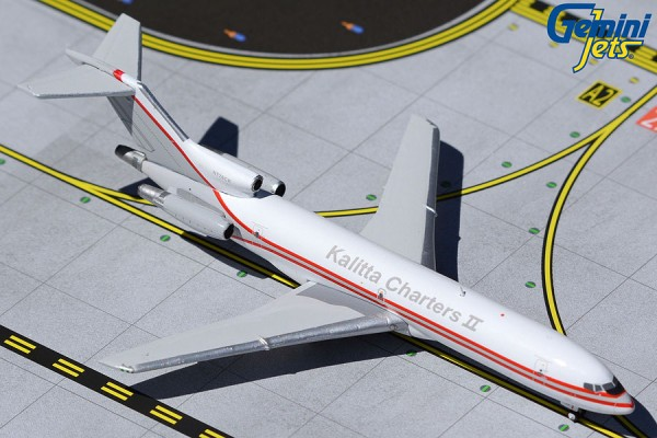 Boeing 727-200F Kalitta Air Charters N726CK Scale 1/400