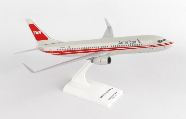 Boeing 737-800 American TWA Retro Scale 1/130
