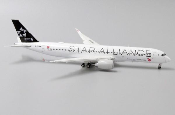 "Airbus A350-900XWB Air China ""Star Alliance Livery"" Flaps Down Version B-308M Scale 1/400"