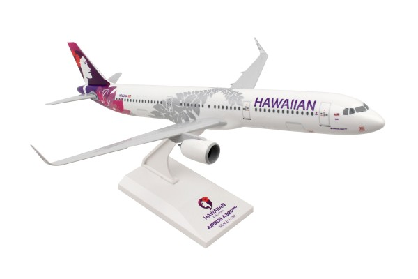 Airbus A321neo Hawaiian Airlines Scale 1/150