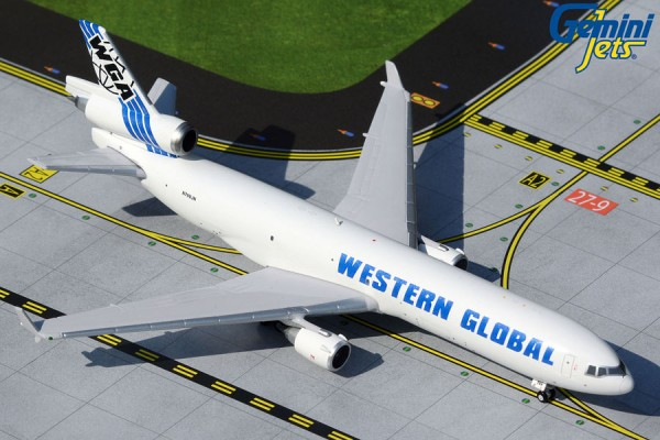 McDonnell Douglas MD-11F Western Global Scale 1/400