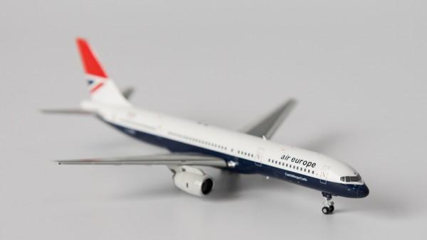 """Boeing 757-200 Air Europe """"Negus"""" livery G-BIKF Scale 1/400"""