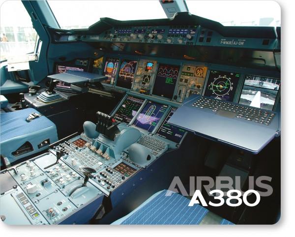 Airbus A380 Cockpit Mousepad