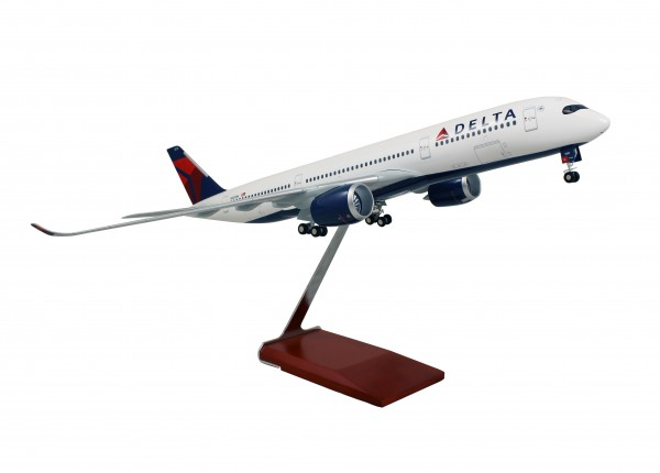 Airbus A350-900 Delta Airlines Scale 1/100 w/Gear