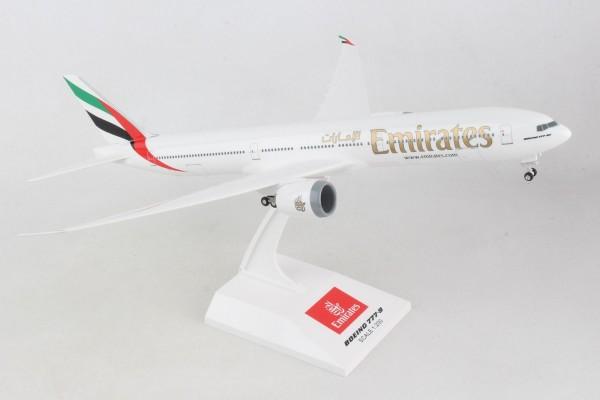 Boeing 777-9 Emirates Scale 1/200 w/G flex Wingtips