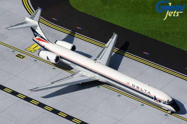 McDonnell Douglas MD-90 Delta Air Lines widget livery N916DN Scale 1/200