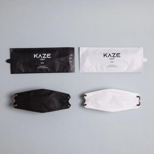 """10 Stück/5 Farben á 2 Stück Atemschutzmaske KAZE Light """"Light Mono Series"""""""